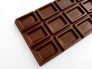体によいおやつ:チョコレート