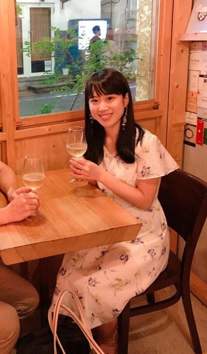 圓尾和紀の彼女ではないです。今は別の男性と結婚しています。