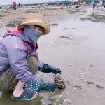 富津の潮干狩り